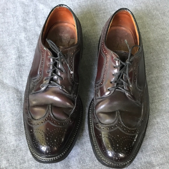 99989aa951e3f VINTAGE Florsheim Imperial Cordovan Shoe